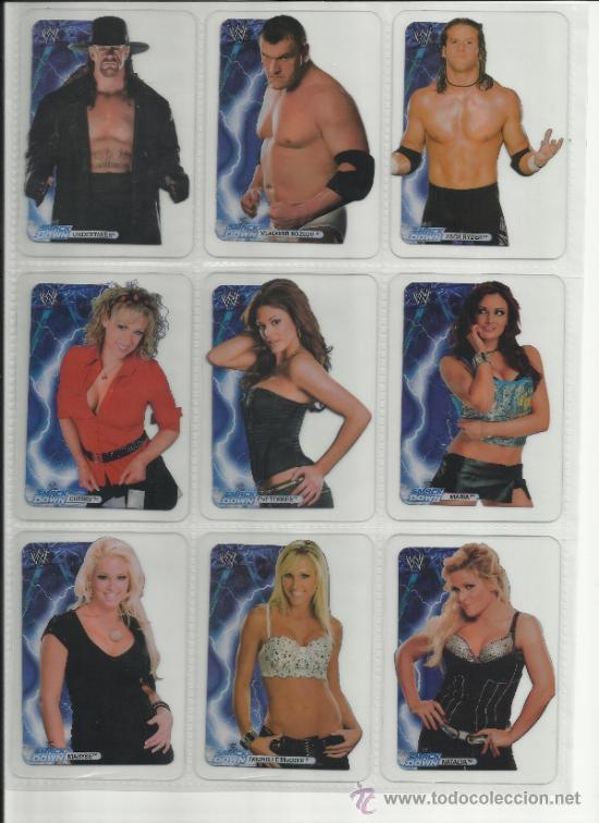 Coleccionismo deportivo: Wrestling New pressing catch stars Smack Down RAW ECW WLegends MC 2008 Coleccion completa lamincards - Foto 5 - 31139878