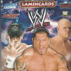 Coleccionismo deportivo: WRESTLING NEW PRESSING CATCH STARS SMACK DOWN RAW ECW WLEGENDS MC 2008 COLECCION COMPLETA LAMINCARDS. Lote 31139878