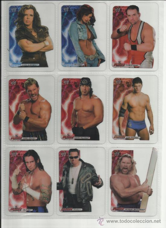 Coleccionismo deportivo: Wrestling New pressing catch stars Smack Down RAW ECW WLegends MC 2008 Coleccion completa lamincards - Foto 6 - 31139878