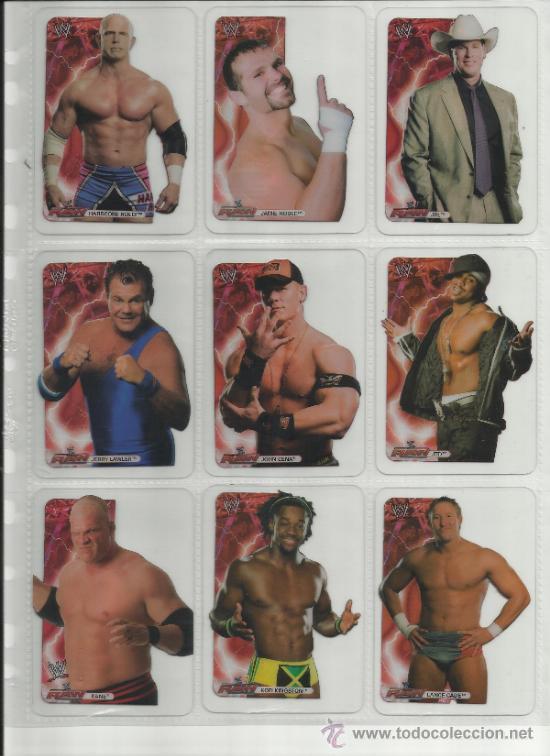 Coleccionismo deportivo: Wrestling New pressing catch stars Smack Down RAW ECW WLegends MC 2008 Coleccion completa lamincards - Foto 7 - 31139878