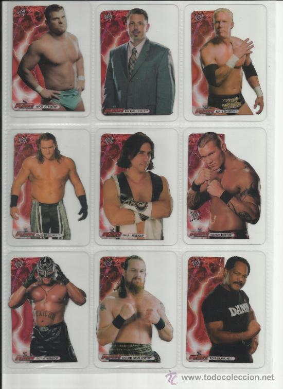 Coleccionismo deportivo: Wrestling New pressing catch stars Smack Down RAW ECW WLegends MC 2008 Coleccion completa lamincards - Foto 8 - 31139878