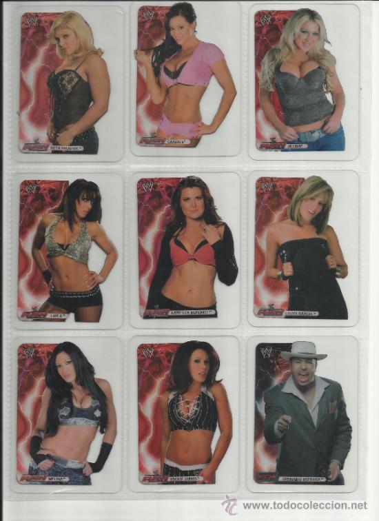 Coleccionismo deportivo: Wrestling New pressing catch stars Smack Down RAW ECW WLegends MC 2008 Coleccion completa lamincards - Foto 10 - 31139878