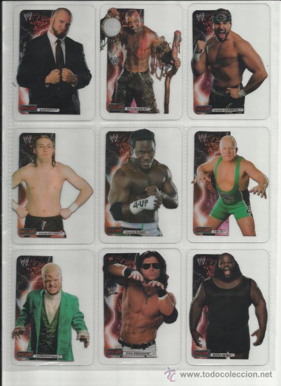 Coleccionismo deportivo: Wrestling New pressing catch stars Smack Down RAW ECW WLegends MC 2008 Coleccion completa lamincards - Foto 11 - 31139878