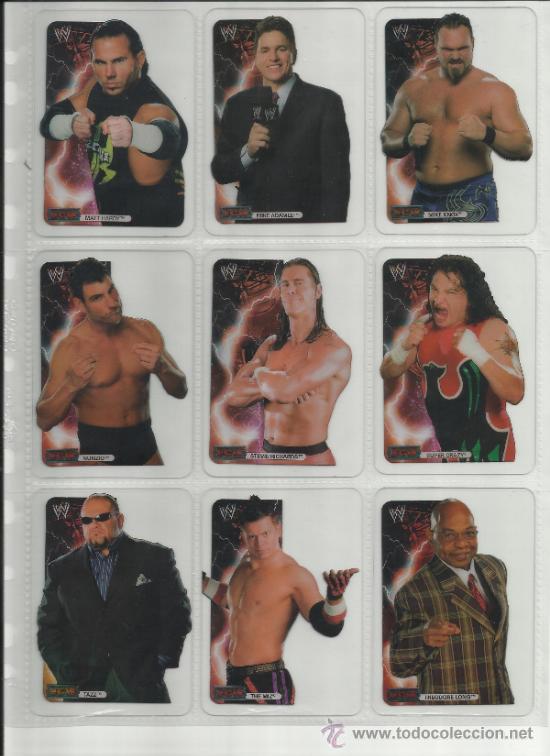 Coleccionismo deportivo: Wrestling New pressing catch stars Smack Down RAW ECW WLegends MC 2008 Coleccion completa lamincards - Foto 12 - 31139878