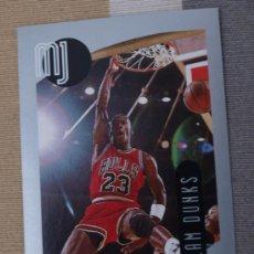 Coleccionismo deportivo: 99 UPPER DECK MICHAEL JORDAN 1998 CROMO STICKER PEGATINA NBA NUEVO DE SOBRE. Lote 31355955