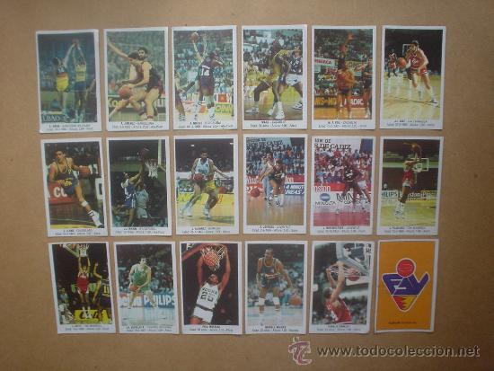BALONCESTO CROMO LOTE 18 CROMOS 1988 J.MERCHANTE BASKET ACB CONVERSE (Coleccionismo Deportivo - Álbumes otros Deportes)