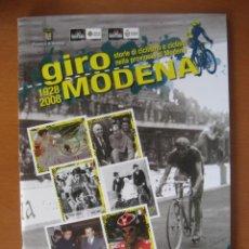 Coleccionismo deportivo: ALBUM CICLISMO GIRO ITALIA 2008 - COMPLETO CON CROMOS SIN PEGAR.. Lote 46247143