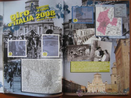 Coleccionismo deportivo: ALBUM CICLISMO GIRO ITALIA 2008 - completo con cromos sin pegar. - Foto 2 - 235877060