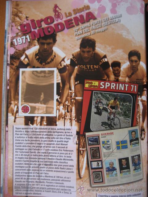 Coleccionismo deportivo: ALBUM CICLISMO GIRO ITALIA 2008 - completo con cromos sin pegar. - Foto 7 - 235877060
