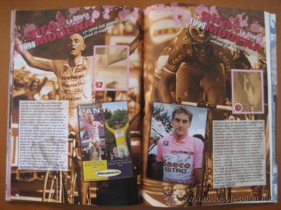Coleccionismo deportivo: ALBUM CICLISMO GIRO ITALIA 2008 - completo con cromos sin pegar. - Foto 9 - 235877060