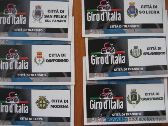 Coleccionismo deportivo: ALBUM CICLISMO GIRO ITALIA 2008 - completo con cromos sin pegar. - Foto 12 - 235877060