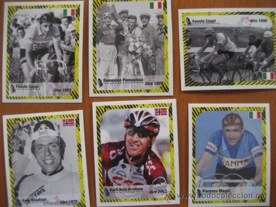Coleccionismo deportivo: ALBUM CICLISMO GIRO ITALIA 2008 - completo con cromos sin pegar. - Foto 13 - 235877060