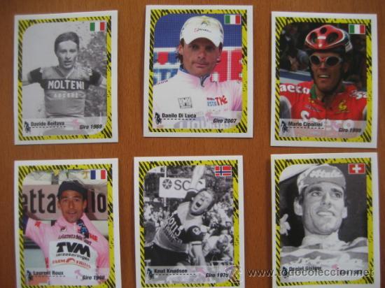 Coleccionismo deportivo: ALBUM CICLISMO GIRO ITALIA 2008 - completo con cromos sin pegar. - Foto 14 - 235877060