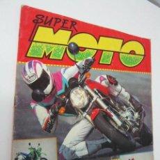 Coleccionismo deportivo: ALBUM SUPER MOTO PANINI - CASI COMPLETO SOLO FALTAN 3 CROMOS - MOTOCICLISMO. Lote 35719005