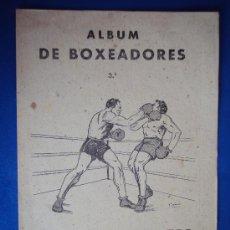 Coleccionismo deportivo: (AL-103)ALBUM CROMOS DE BOXEADORES Nº3 DEPORTES E INSTRUCCIÓN. VALENCIANA 1941(COMPLETO). Lote 36011424