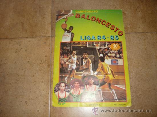 ALBUM DE BALONCESTO LIGA 84-85 INCOMPLETO 117 CROMOS DE 177 MUY DIFICIL TAN COMPLETO Y EN ESTADO (Coleccionismo Deportivo - Álbumes otros Deportes)