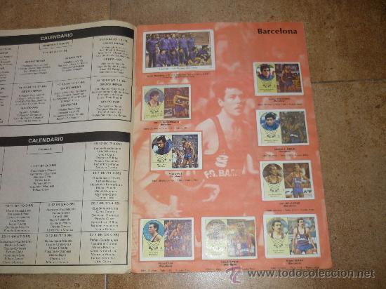 Coleccionismo deportivo: ALBUM DE BALONCESTO LIGA 84-85 INCOMPLETO 117 CROMOS DE 177 MUY DIFICIL TAN COMPLETO Y EN ESTADO - Foto 2 - 36074324