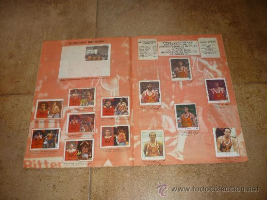 Coleccionismo deportivo: ALBUM DE BALONCESTO LIGA 84-85 INCOMPLETO 117 CROMOS DE 177 MUY DIFICIL TAN COMPLETO Y EN ESTADO - Foto 3 - 36074324