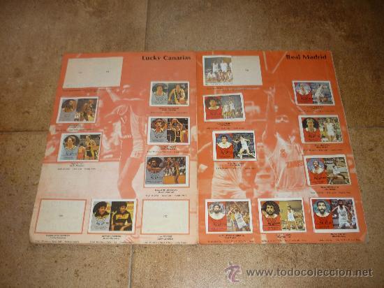 Coleccionismo deportivo: ALBUM DE BALONCESTO LIGA 84-85 INCOMPLETO 117 CROMOS DE 177 MUY DIFICIL TAN COMPLETO Y EN ESTADO - Foto 5 - 36074324