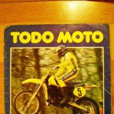 Coleccionismo deportivo: ÁLBUM 'TODO MOTO' (COMIC-ROMO, 1983) * CON 106 CROMOS, . Lote 36134973