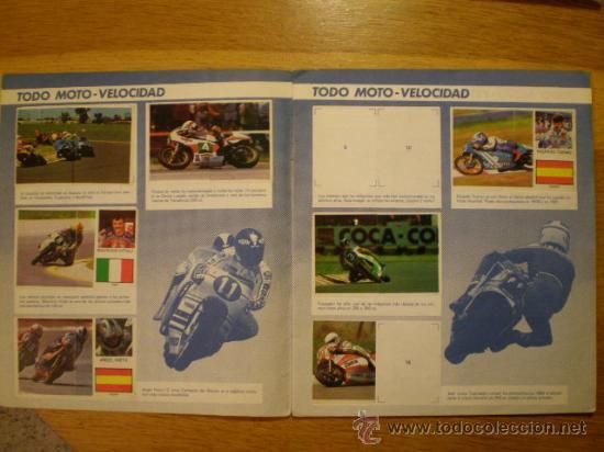 Coleccionismo deportivo: ÁLBUM TODO MOTO (Comic-Romo, 1983) * Con 106 cromos, - Foto 3 - 36134973