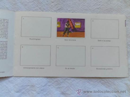 Coleccionismo deportivo: Album 5 El deporte visto por sus ases - Boxeo - Chocosport / Nestlé - Foto 2 - 36423815