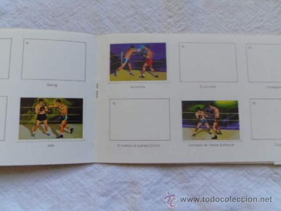 Coleccionismo deportivo: Album 5 El deporte visto por sus ases - Boxeo - Chocosport / Nestlé - Foto 3 - 36423815