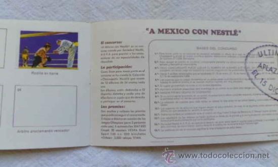 Coleccionismo deportivo: Album 5 El deporte visto por sus ases - Boxeo - Chocosport / Nestlé - Foto 5 - 36423815