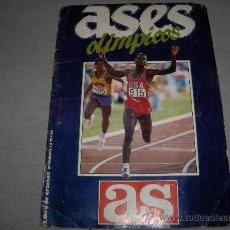 Collezionismo sportivo: ASES OLÍMPICOS COMPLETO 84 CROMOS. DIARIO AS. REGALO JUEGOS OLÍMPICOS MOSCÚ 80 VACÍO. COLA CAO 1980.. Lote 36690535