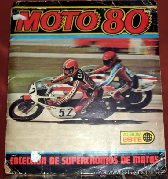 ALBUM DE CROMOS DE MOTOCICLETAS, MOTO 80 (Coleccionismo Deportivo - Álbumes otros Deportes)