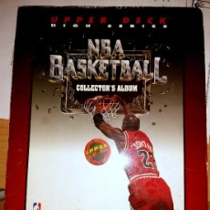 Coleccionismo deportivo: COLLECTOR'S ALBUM NBA UPPER DECK 1992-93 HIGH SERIES BALONCESTO CARDS TARJETAS. Lote 47723309