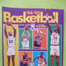 Coleccionismo deportivo: BASKETBALL 94-95. ALBUM DE CROMOS DE PANINI. CASI COMPLETO SOLO FALTAN ESTOS NUMEROS DE 220 CROMOS:. Lote 37563063