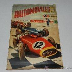 Coleccionismo deportivo: ALBUM AUTOMOVILES - COMPLETO !!! EDT FHER 1958 , SEÑALES DE USO. Lote 37605004