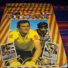 Coleccionismo deportivo: VUELTA CICLISTA ASES INTERNACIONALES DEL PEDAL INCOMPLETO. J. MERCHANTE 1983. PORTADA INENCONTRABLE!. Lote 37895540