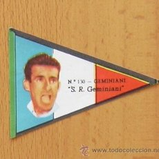 Coleccionismo deportivo: CICLISMO - 130 GEMINIANI - VUELTA CICLISTA ESPAÑA 1960 - EDITORIAL FHER, NUNCA PEGADO. Lote 38622012
