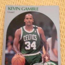 Coleccionismo deportivo: CARD NBA HOOPS 1990 - 40 - KEVIN GAMBLE. Lote 39091379