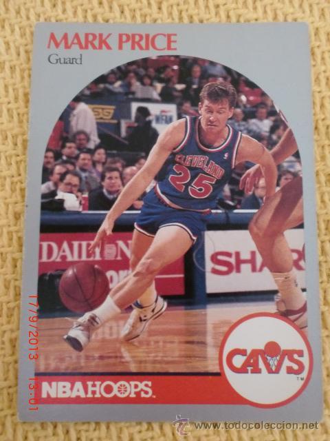 CARD NBA HOOPS 1990 - 79 - MARK PRICE (Coleccionismo Deportivo - Álbumes otros Deportes)