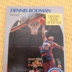 Coleccionismo deportivo: CARD NBA HOOPS 1990 - 109 - DENNIS RODMAN. Lote 39093933