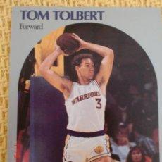 Coleccionismo deportivo: CARD NBA HOOPS 1990 - 121 - TOM TOLBERT. Lote 39094913