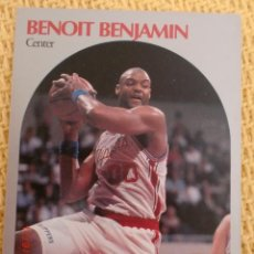 Coleccionismo deportivo: CARD NBA HOOPS 1990 - 142 - BENOIT BENJAMIN. Lote 39096222
