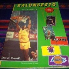 Coleccionismo deportivo: BALONCESTO 88 COMPLETO. MERCHANTE . DE REGALO OTRO INCOMPLETO.. Lote 39645224