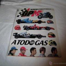 Coleccionismo deportivo: A TODO GAS 2005 ALBUM GP MARCA CON TODA LA INFORMACION DE LA FORMULA 1.-LE FALTAN 14 CROMOS. Lote 40085786