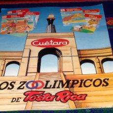 Coleccionismo deportivo: LOS ZOOLÍMPICOS INCOMPLETO FALTAN 6 CROMOS DE 24. TOSTA RICA 1988. MUY BUEN ESTADO Y MUY DIFÍCIL!!!. Lote 41706248