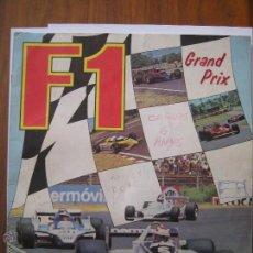 Coleccionismo deportivo: ALBUM DE CROMOS PANINI F1 AÑO 1980 INCOMPLETO - FALTAN 7 CROMOS DEL TOTAL DE 144. Lote 42518510