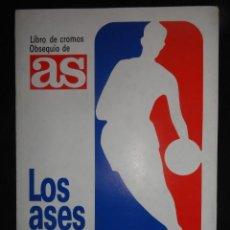 Coleccionismo deportivo: ALBUM DE CROMOS TOTALMENTE COMPLETO LOS ASES DE LA NBA 1989 . Lote 42525180