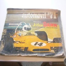 Coleccionismo deportivo: AUTOMOVIL 71 COLECCION 60 NAIPES XIBECA DAMM CON 43 NAIPES DE 60 CROMOS C56. Lote 43119283