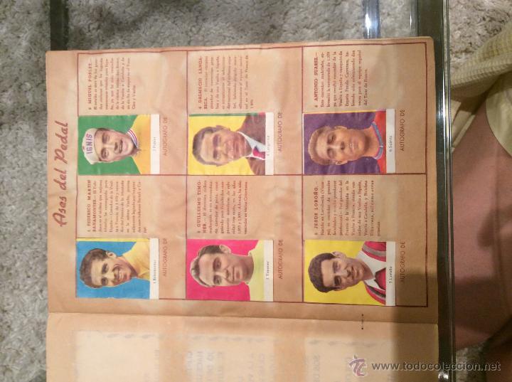 Coleccionismo deportivo: ASES DEL PEDAL 1960 COMPLETO - Foto 3 - 43776168