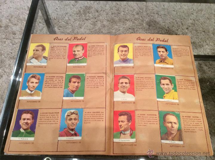 Coleccionismo deportivo: ASES DEL PEDAL 1960 COMPLETO - Foto 4 - 43776168