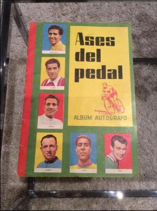 ASES DEL PEDAL 1960 COMPLETO (Coleccionismo Deportivo - Álbumes otros Deportes)