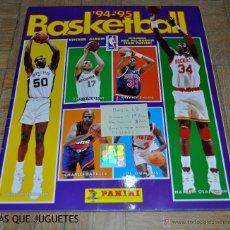 Coleccionismo deportivo: ÁLBUM BASKETBALL TEMPORADA 94-95. PANINI. FALTAN 33 CROMOS.. Lote 45631160